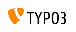 TYPO3 Logo in orange und schwarz