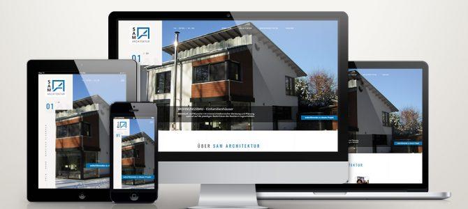 WordPress Website für Architekturbüro