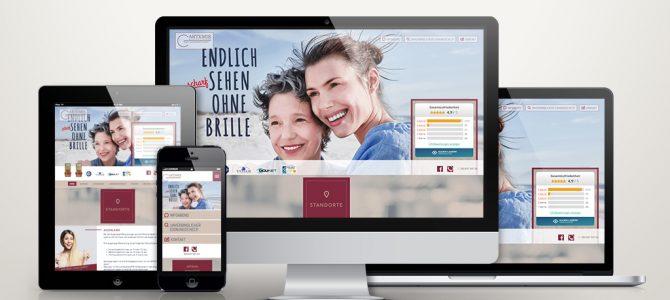 Website Relaunch – ARTEMIS Laserklinik Frankfurt