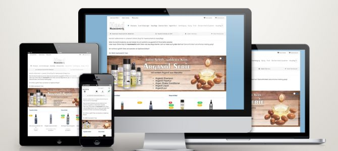Shopware Online Shop Relaunch – Head Haarcosmetic
