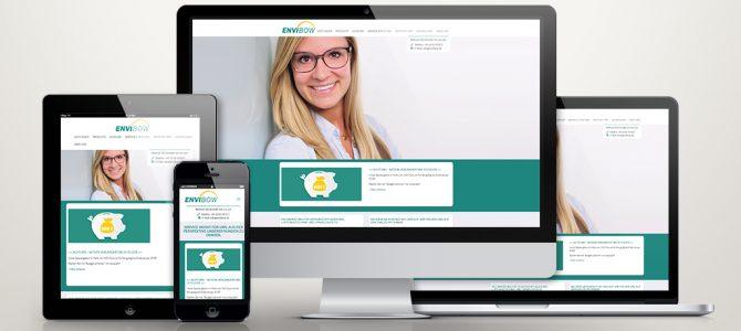 TYPO3 Webdesign für Envibow aus Overath bei Köln