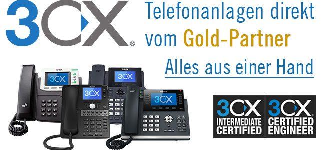 Ihr zuverlässiger Partner für 3CX Cloud Telefonanlagen