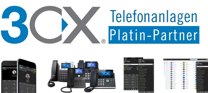 Platin-Partnerschaft für Cloud Telefonanlagen